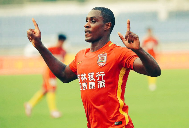 Odion Ighalo dedicates goals in 3-2 win against Guangzhou R&F to his Daughter