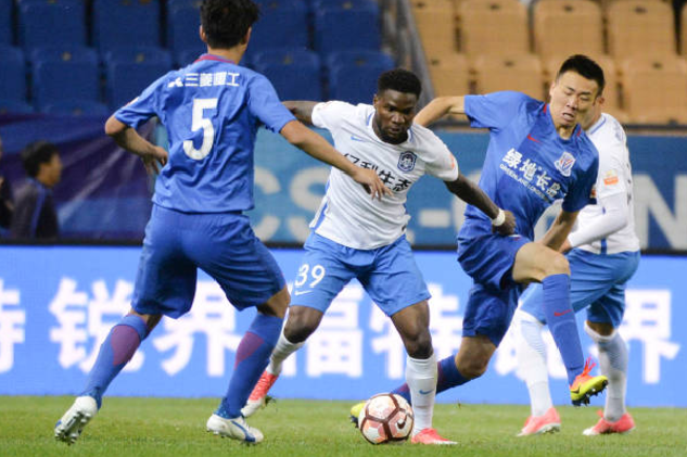 Brown Ideye demoted to Tianjin TEDA Team B