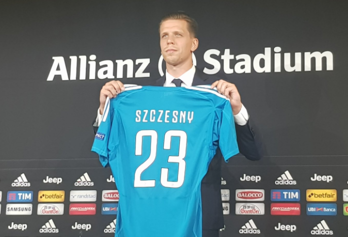 Juventus sign Arsenal goalkeeper Szczęsny