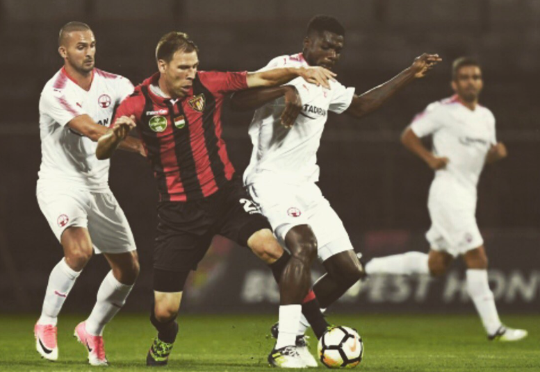 UCL: Ogu, Nwakaeme steal show in Hapoel Be'er Sheva's 3-2 win against Honved
