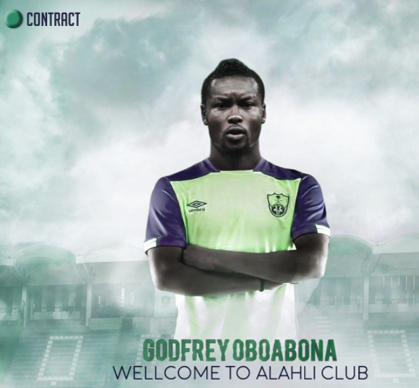 Godfrey Oboabona Joins Saudi Arabian Club Al Ahli
