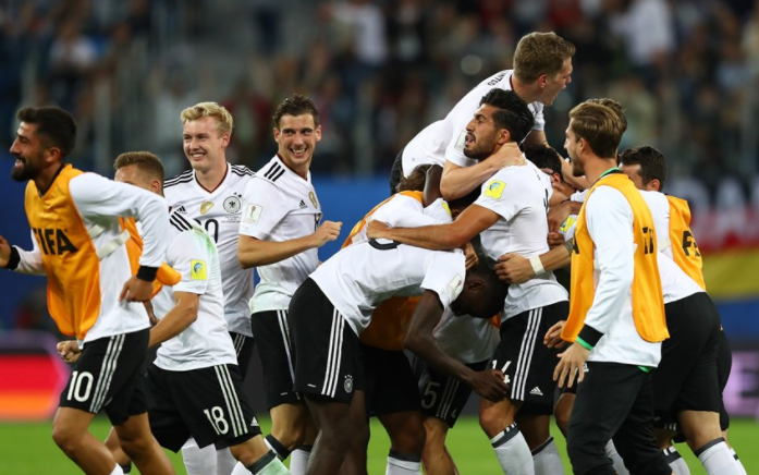 Germany punish profligate Chile