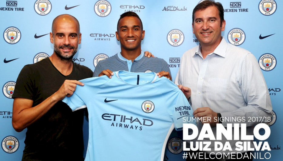 Manchester City Spending Spree continues, Club confirms signing Danilo from Real Madrid