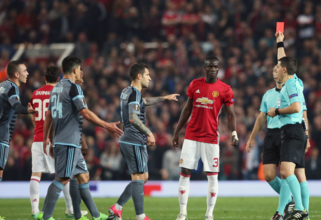 Ivory Coast and Man United Star Eric Bailly slapped with extended Suspension by UEFA