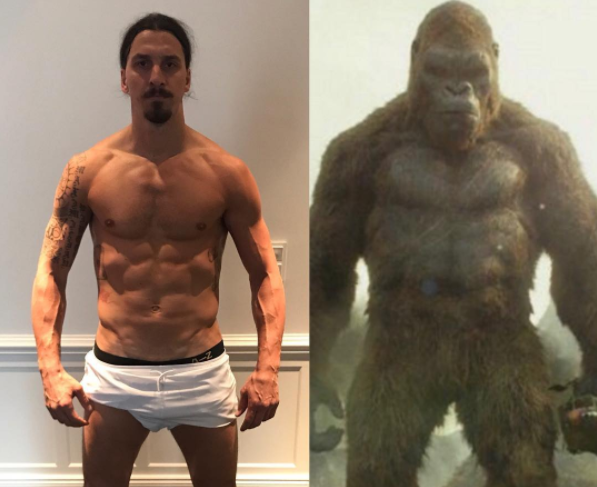 Mourinho hints Man United will re-signing King Kong ( Zlatan )