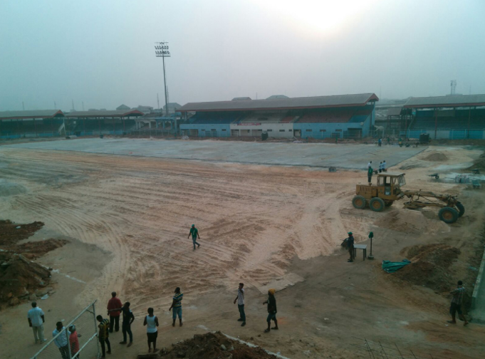 (Pictures) Enyimba get return date to Stadium in Aba