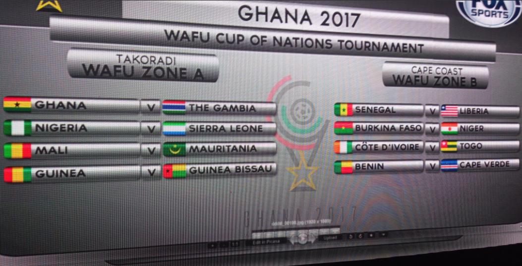 Nigeria face Sierra Leone in 2017 WAFU Cup of Nations