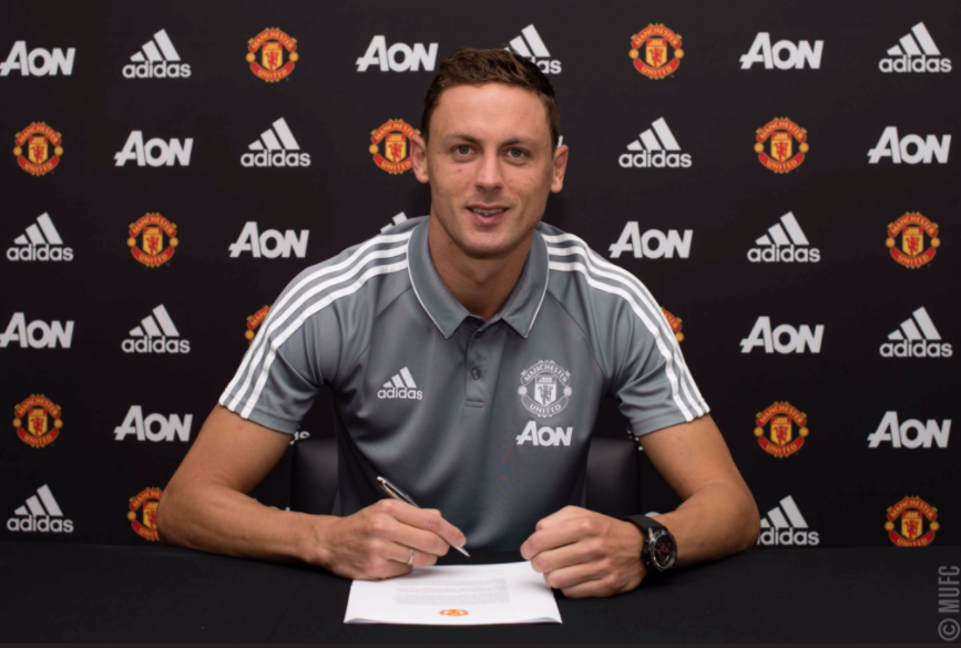 Man United sign Nemanja Matic from Chelsea