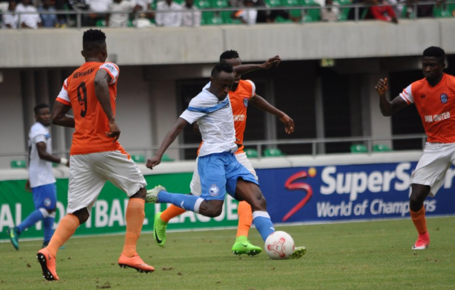 Akwa United 1-0 Enyimba: Newman secures landmark win