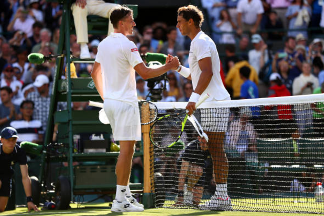 Nadal not carried away after crushing Wimbledon victory