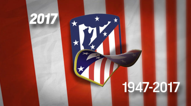 Atletico Madrid officially change badge