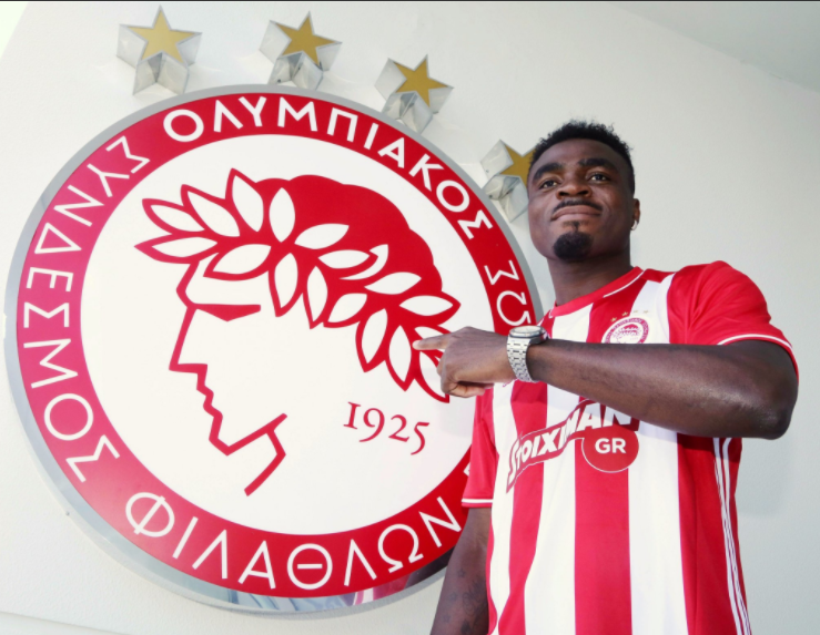Olympiacos announces Emmanuel Emenike deal