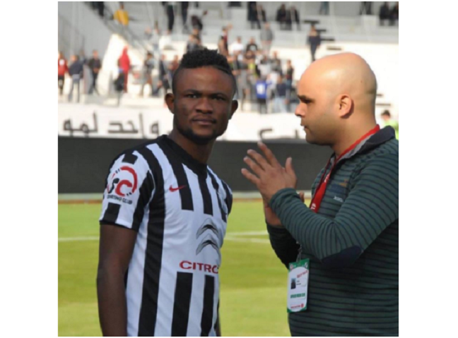 Kingsley Sokari on the verge of joining Club Africain