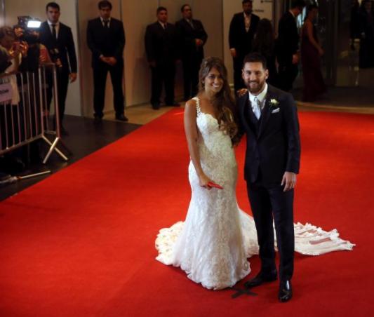 Wedding of the century? Lionel Messi and Antonela Roccuzzo light up Argentina