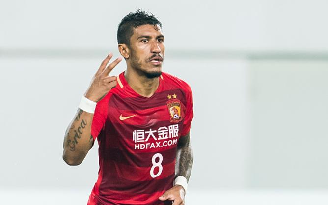 Barcelona's £22m bid for China-based Paulinho Rejected