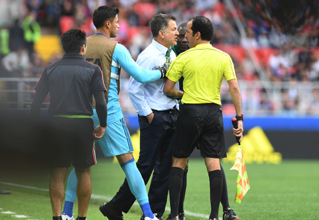 Confederations Cup: Mexico boss gets six-game ban for insulting officials