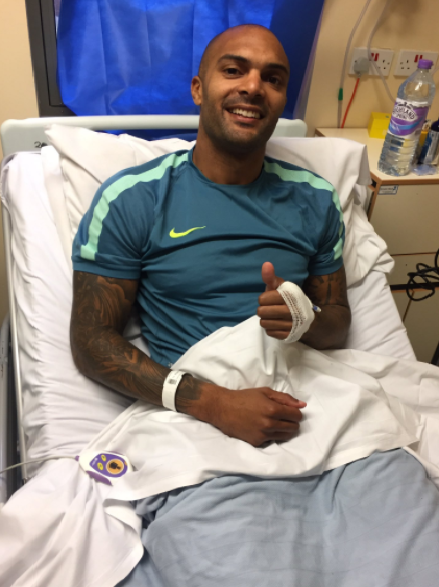 Carl Ikeme vows to be Strong, shares Hospital photo