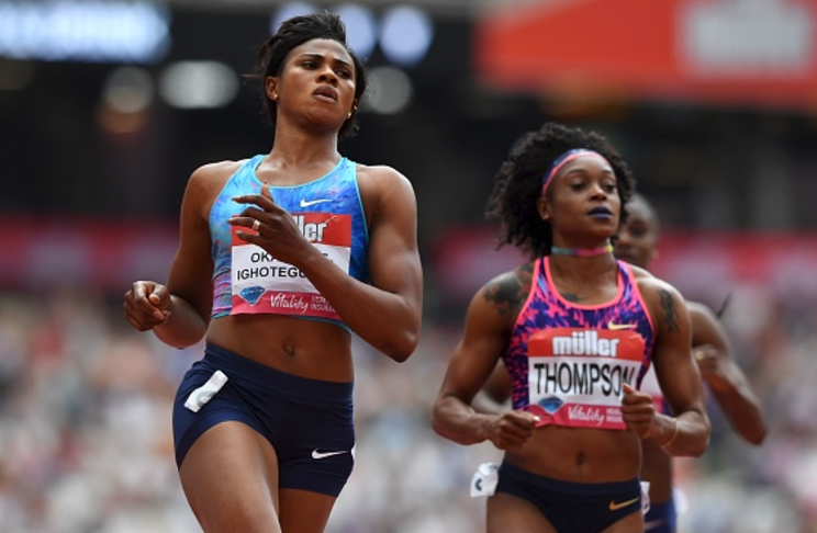 Blessing Okagbare-Ighoteguonor runs Sub-11 in London