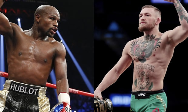 Floyd Mayweather on Conor McGregor fight: 'I'm slipping a little bit'