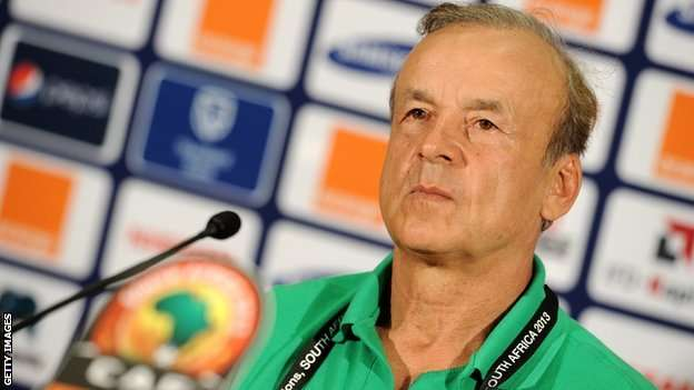 Rohr to arrive Russia on Wednesday for World Cup draw
