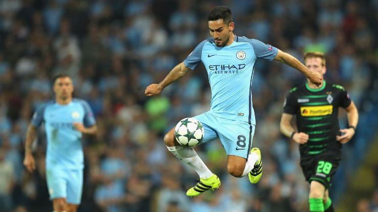 Ilkay Gundogan returns in Manchester City friendly after eight-month injury layoff