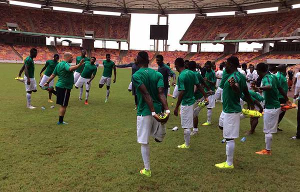CHAN Eagles to face Kanopillars today as they continue preparations for the weekend qualifier against Benin Republic