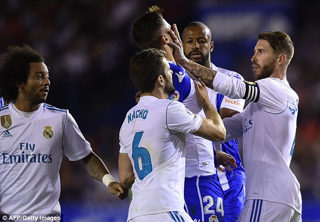 Galacticos captain Sergio Ramos calls for more leniency from referees after 23rd red card of his career