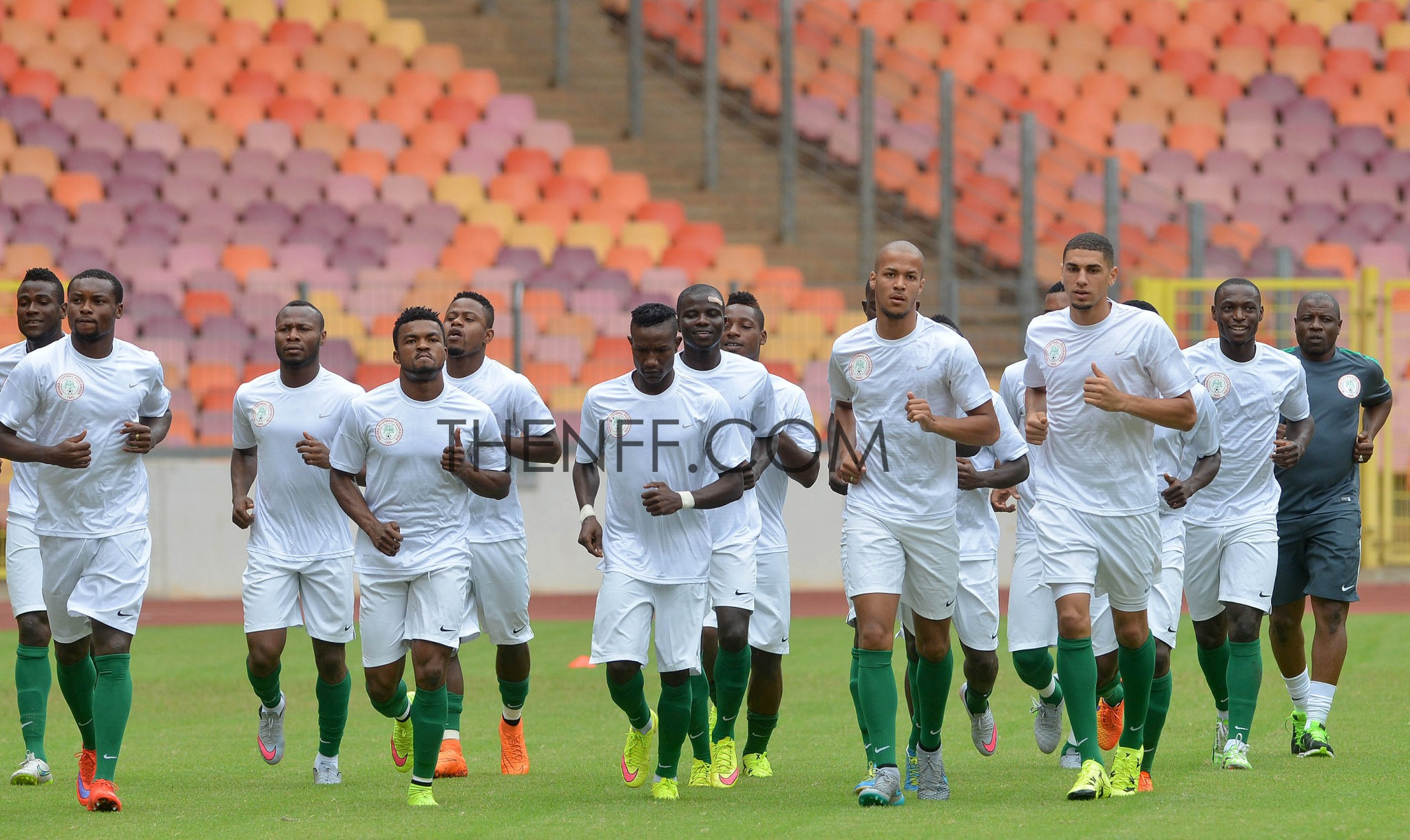 Super Eagles Optimistic of Cameroon's fall in Uyo
