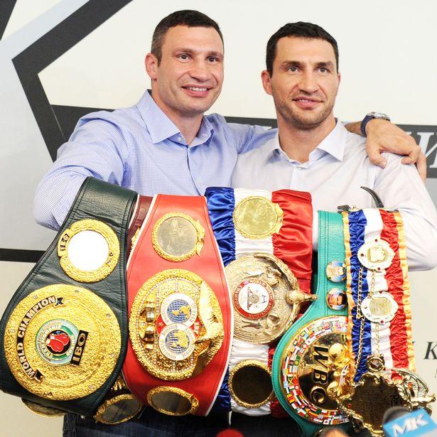 Klitschko and his brother Vitali