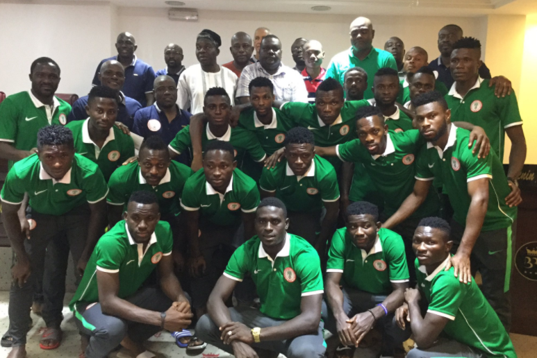 Super Eagles promotion for CHAN Eagles very Slim, Pinnick gives no assurances