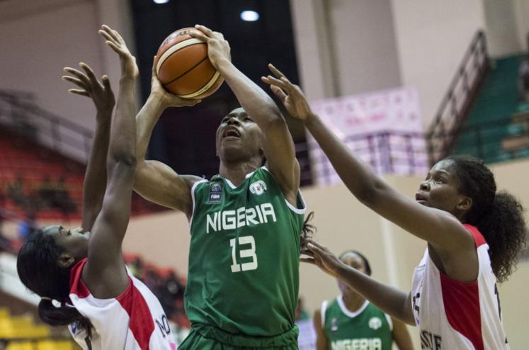 2017 Women's AfroBasket: Nigeria off to winning Start with 80-69 Victory against Mozambique