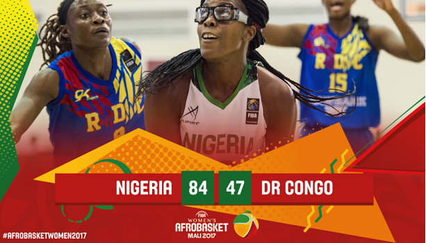 2017 Women's AfroBasket: D'Tigress win Big against DR Congo
