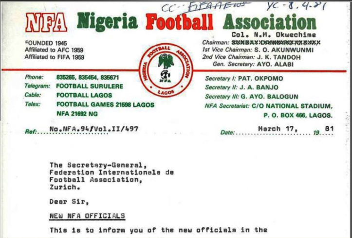They Got it Wrong! NFA/NFF Not Founded In 1945 – By Kunle Solaja