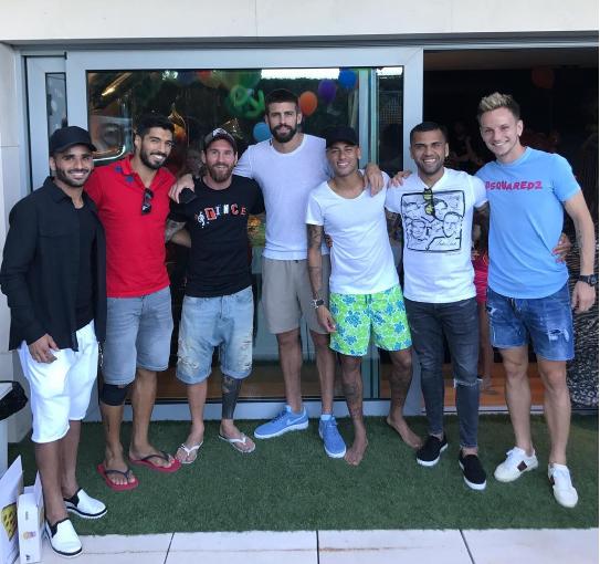 Neymar hacked Barcelona Twitter page!
