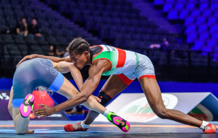 Adekuruoye promises best ahead Germany wrestling grand Prix