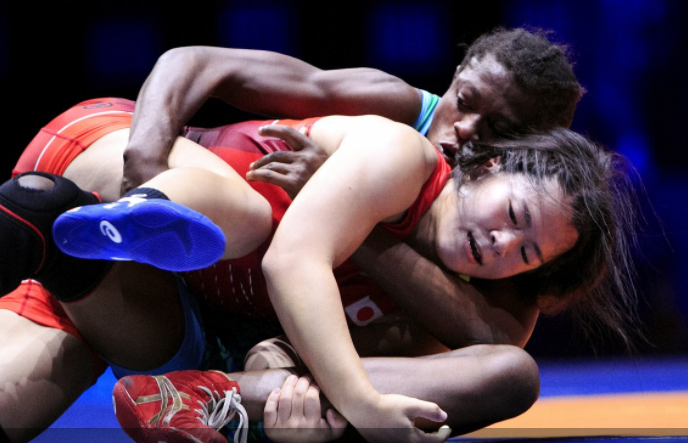 Wrestling: Adekuoroye Clinch Olympic Ticket In Kazakhstan