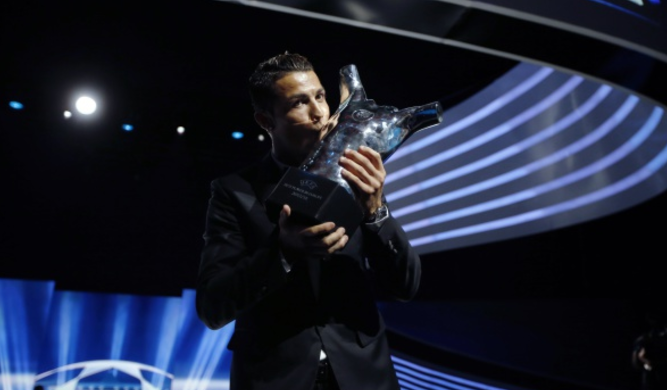 Cristiano Ronaldo named UEFA Men's Player of the Year