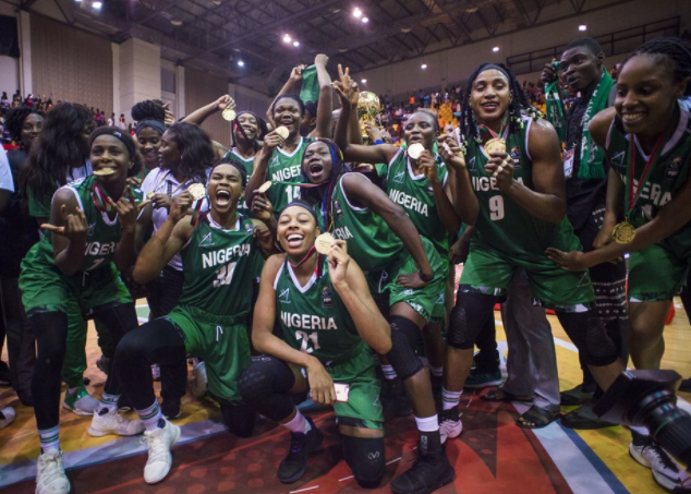Nigeria Climbs up in 2017 women FIBA World Ranking