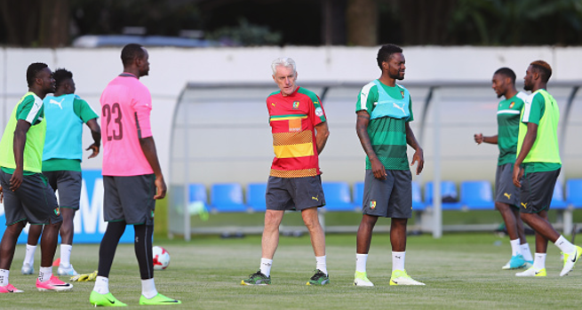 Cameroon start preparations for World Cup qualifier against Nigeria