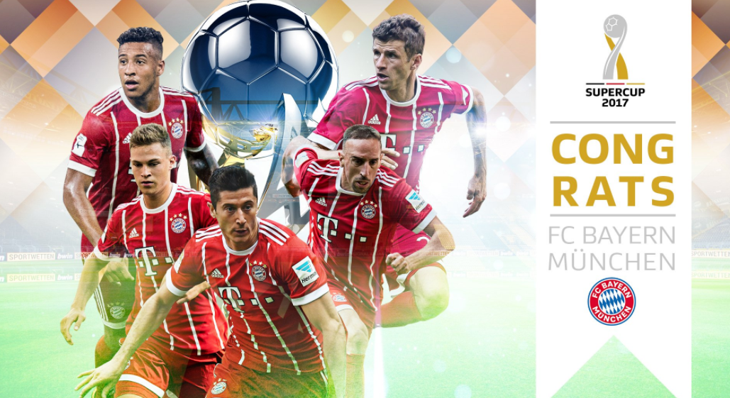 Bayern Munich Seal Sixth DFB Supercup defeating Dortmund 5-4 on Penalties