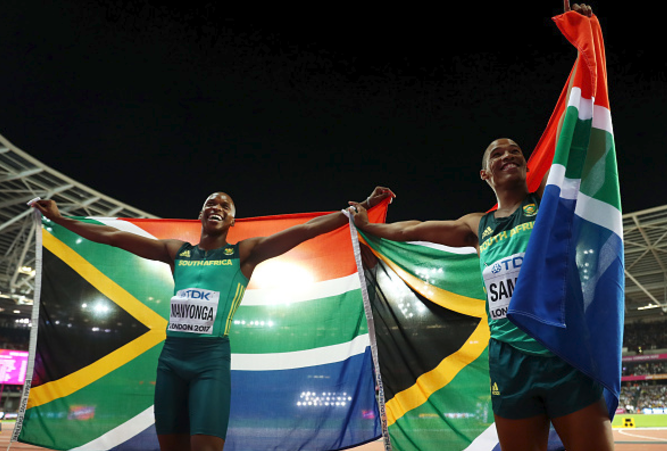 World Championships: SA's Luvo Manyonga wins long jump gold