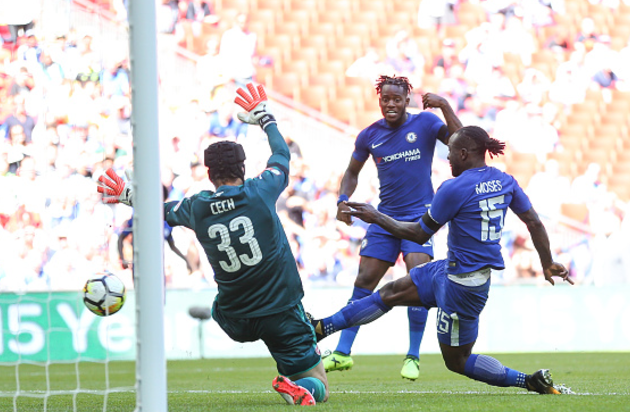Community Shield: Victor Moses Scores but Chelsea lose 4-1 on Penalty to Arsenal