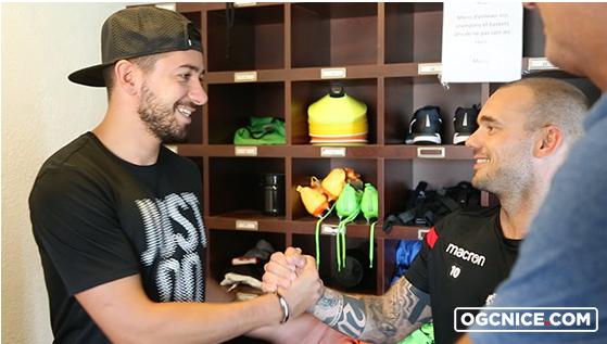 OGC Nice completes Signing of Wesley Sneijder, hand him Jersey Number 10