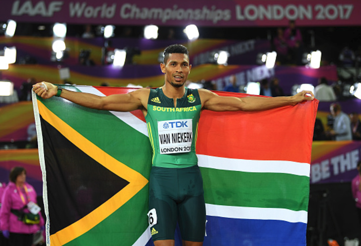 Wayde van Niekerk successfully defends his 400m World Championship Crown