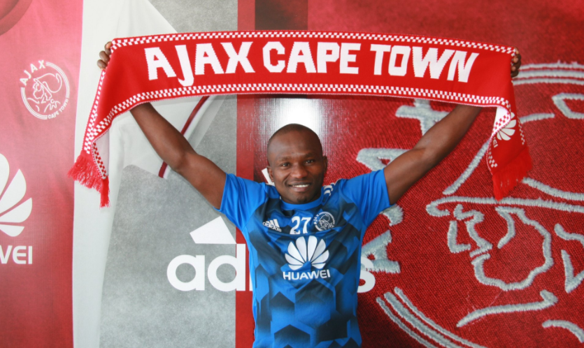 Ajax Cape Town ties Ejike Uzoenyi to Four-year deal