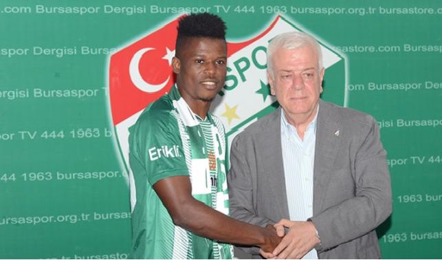 Mikel Agu Joins Troost-Ekong at Bursaspor SK