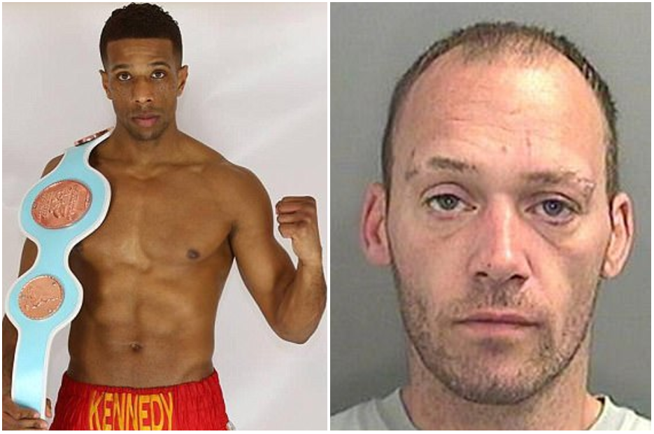 Everyday for the Thief! Burglar picked wrong house when he broke into home of professional BOXER
