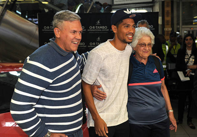 Wayde van Niekerk says it is his 75-year-old supergran coach who has made him into a world star