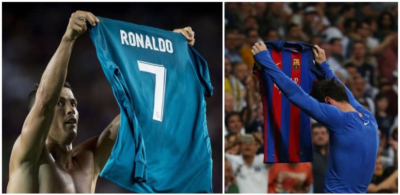 Ronaldo Mocks Lionel Messi Goal Celebration, but it Backfires