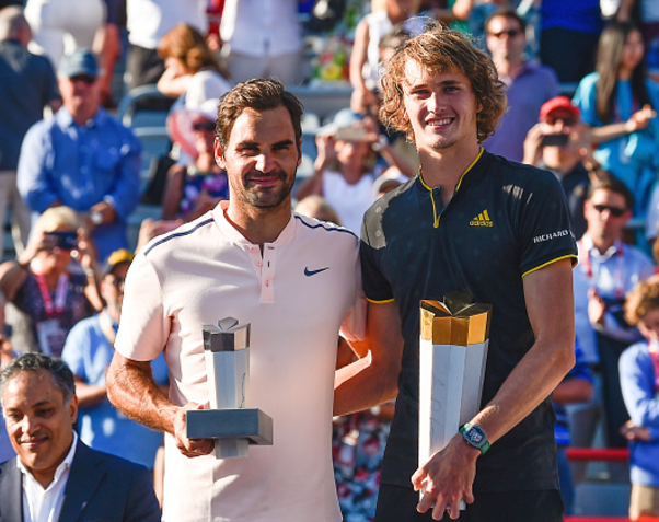 Alexander Zverev stuns Roger Federer in Straight Sets to win Rogers Cup